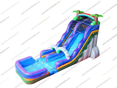 tropical water slide for sale