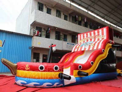 adventure galley inflatable water slide