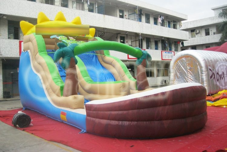 life's a beach inflatable water slide