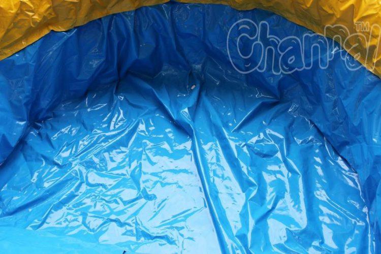 tropical water slide pool