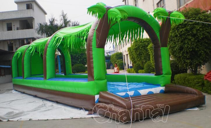 inflatable water slip n slide
