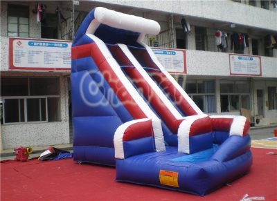wild wave inflatable water slide with pool