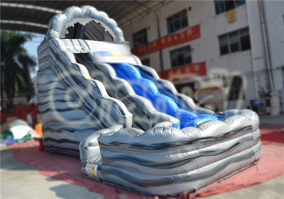 wild rapids inflatable water slide