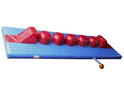 total wipeout inflatable course