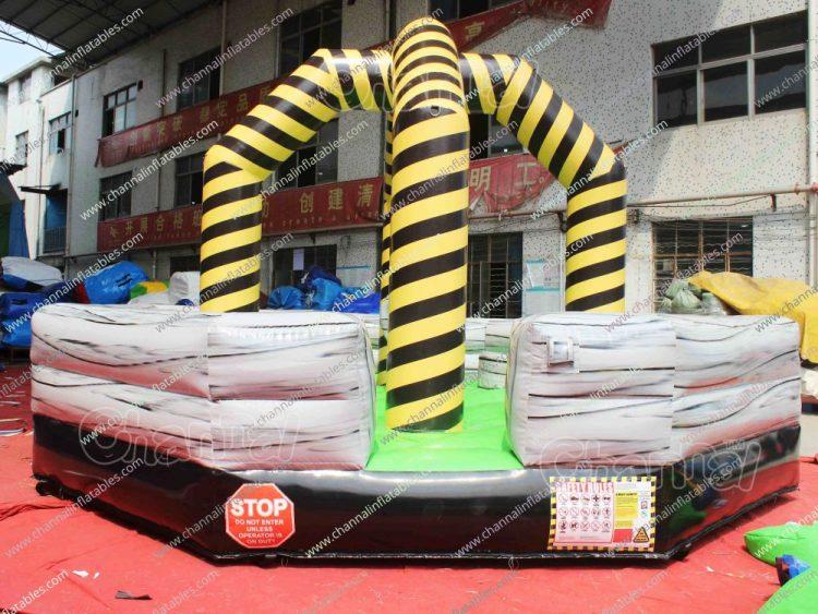 wrecking ball inflatable platforms